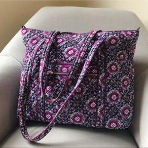 NWOT Vera Bradley Tote Bag in Lilac Medallion